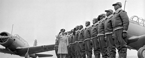 Post image for TUSKEGEE AIRMEN 1944